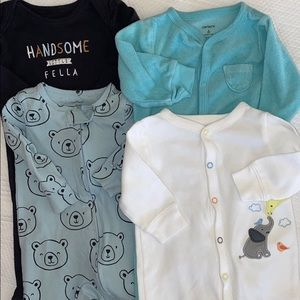 Carter's baby boy bundle